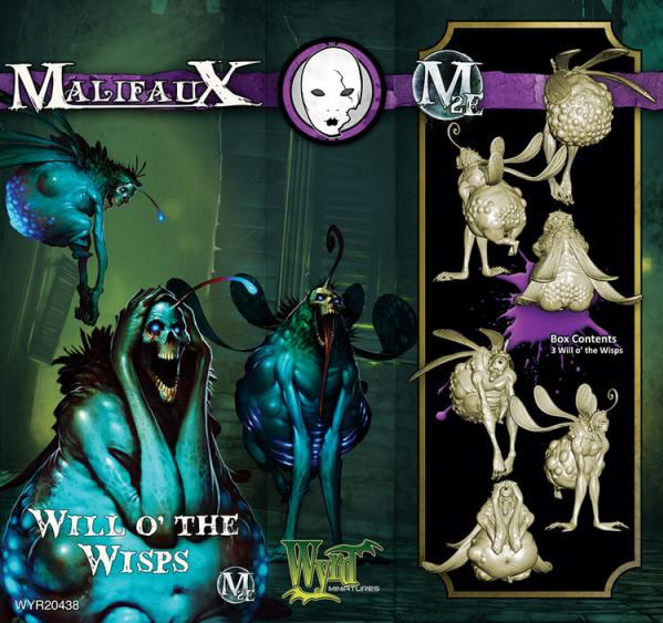 Malifaux: (The Neverborn) Will o' the Wisps
