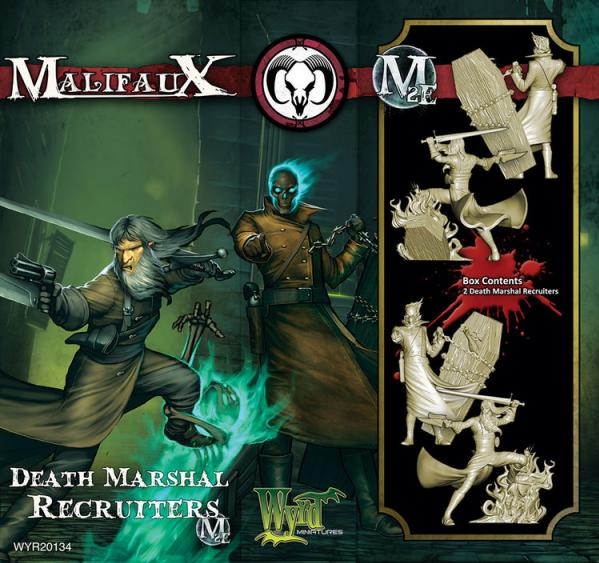 Malifaux: (The Guild) Death Marshal Recruiters