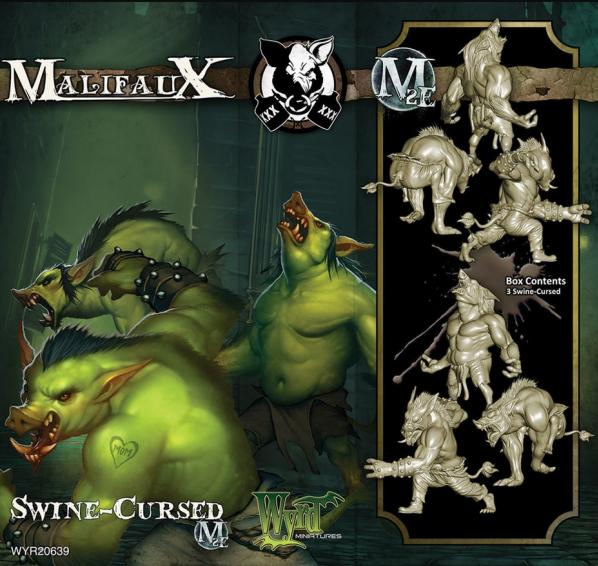 Malifaux: (The Gremlins) Swine-Cursed Box Set