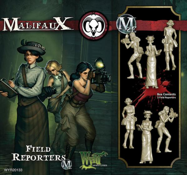 Malifaux: (The Guild) Field Reporters