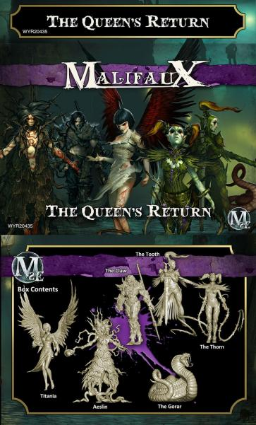 Malifaux: (The Neverborn) The Queen's Return
