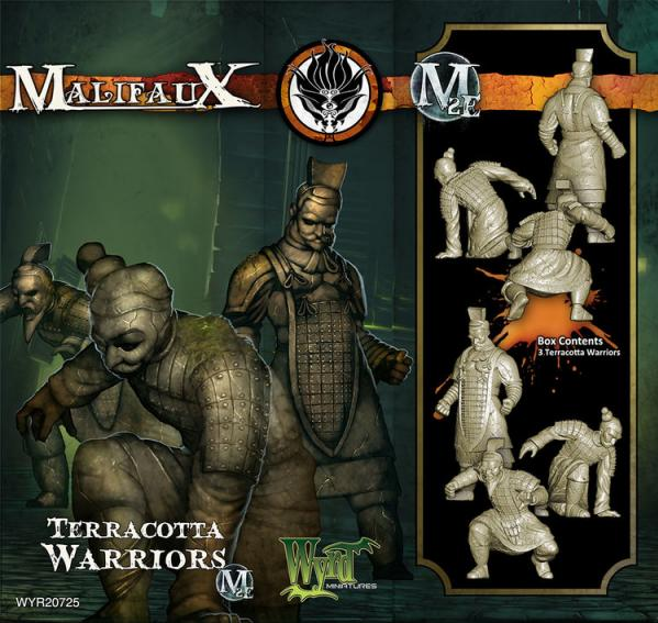 Malifaux: (Ten Thunders) Terracotta Warrior