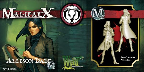 Malifaux: (The Guild) Allison Dade