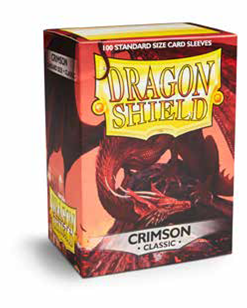 Dragon Shields: Classic Crimson Card Sleeves (100)
