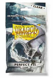 Dragon Shields: Perfect Fit Sleeves - Clear (100)