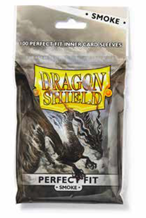 Dragon Shields: Perfect Fit Sleeves - Smoke (100)