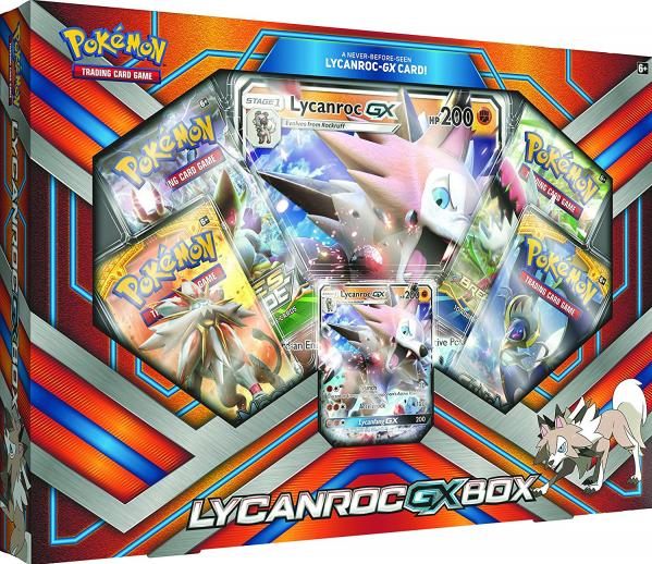 Pokemon CCG: Lycanroc GX Box