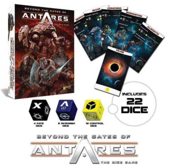 Beyond The Gates Of Antares: Dice Game