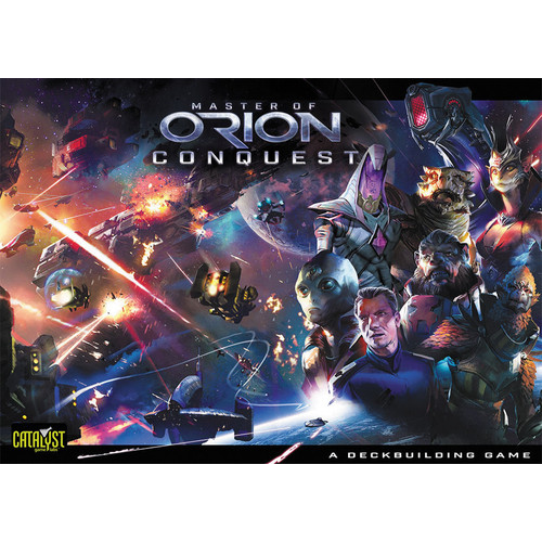 Master of Orion Conquest Card Game