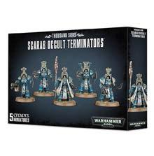 Warhammer 40K: Thousand Sons Scarab Occult Terminators