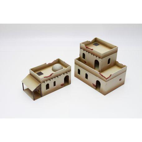 Miniature Terrain: North Africa Building Set 1