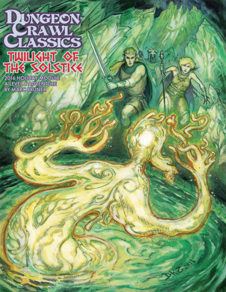 Dungeon Crawl Classics RPG: Twilight of the Solstice (2016 Holiday Module)