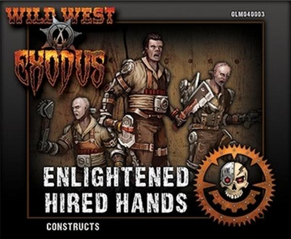 Wild West Exodus: Enlightened Hired Hands - Constructs Box
