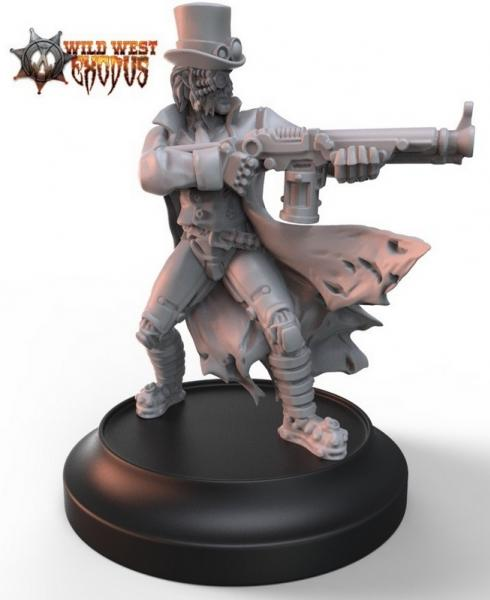 Wild West Exodus: Dr. Carpathian (Alternate Sculpt)
