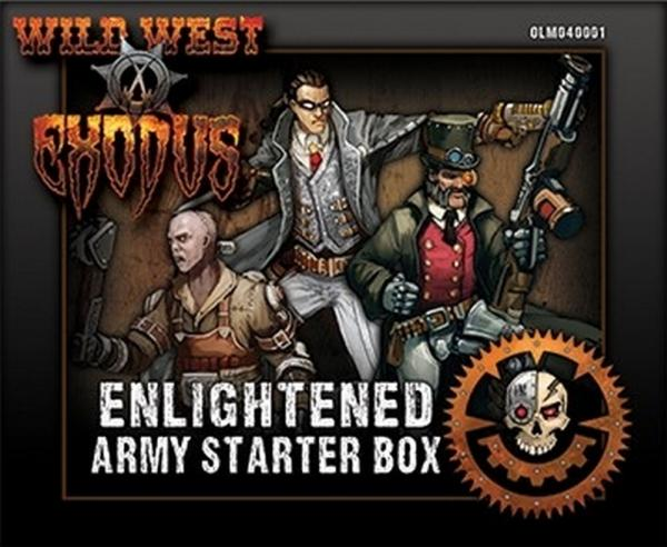 Wild West Exodus: Enlightened Army Starter Box