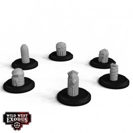 Wild West Exodus: Small Spirit Totem Set