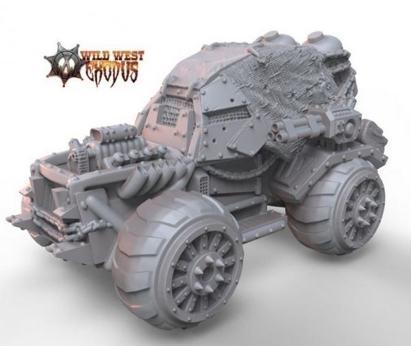 Wild West Exodus: Sand Buggy