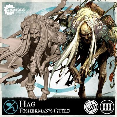 GuildBall: (Fisherman's Guild) Hag (Season 3)