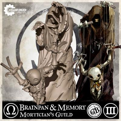 GuildBall: (Mortician's Guild) Brainpan & Memory (Season 3)