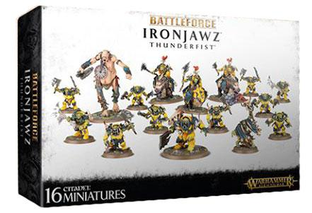 Warhammer 40K: BATTLEFORCE - IRONJAWZ THUNDERFIST