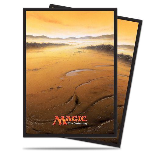 Magic The Gathering: Mana - Plains Deck Protectors (80)