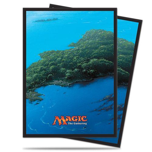 Magic The Gathering: Mana - Island Deck Protectors (80)