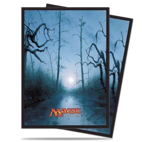Magic The Gathering: Mana - Swamp Deck Protectors (80)