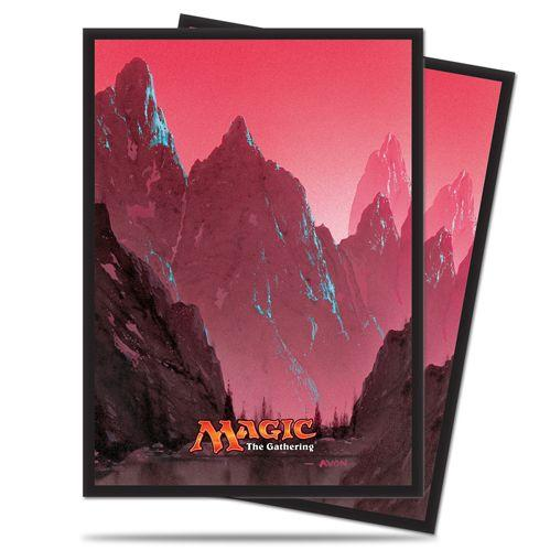 Magic The Gathering: Mana - Mountain Deck Protectors (80)