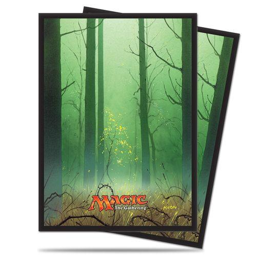 Magic The Gathering: Mana - Forest Deck Protectors (80)