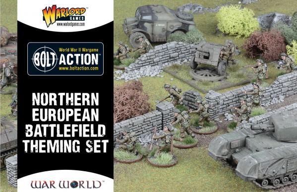 Bolt Action, 2nd Edition: Northern European Battlefield Theme Set