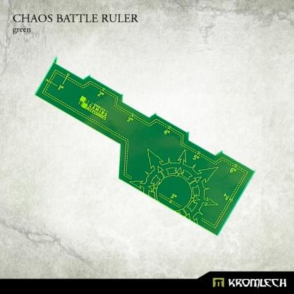 Kromlech Accessories: Chaos Battle Ruler [green] (1)