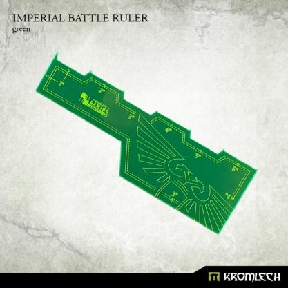 Kromlech Accessories: Imperial Battle Ruler [green] (1)