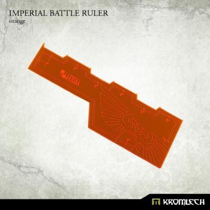Kromlech Accessories: Imperial Battle Ruler [orange] (1)
