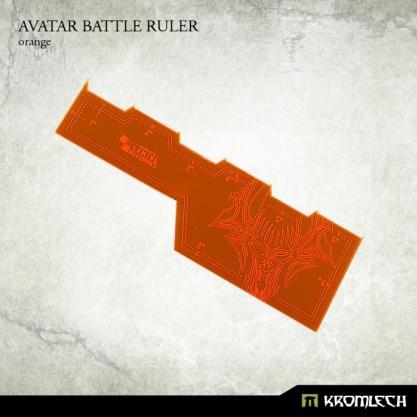 Kromlech Accessories: Avatar Battle Ruler [orange] (1)