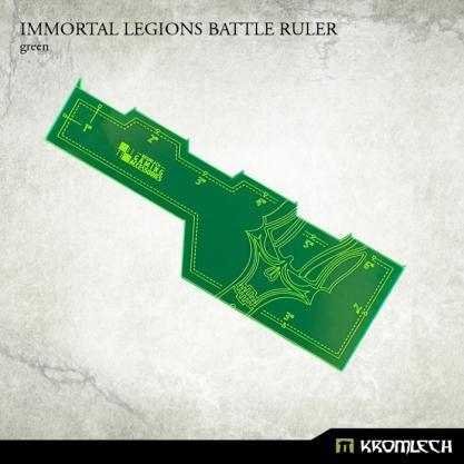 Kromlech Accessories: Immortal Legions Battle Ruler [green] (1)