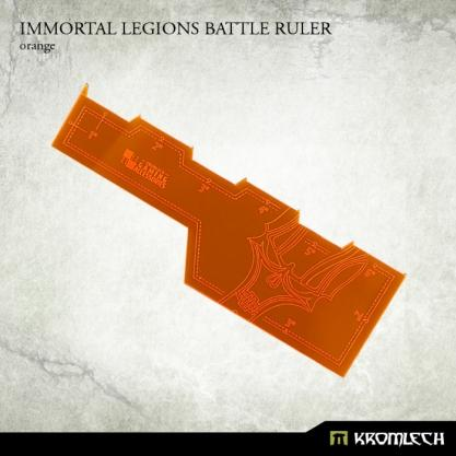 Kromlech Accessories: Immortal Legions Battle Ruler [orange] (1)
