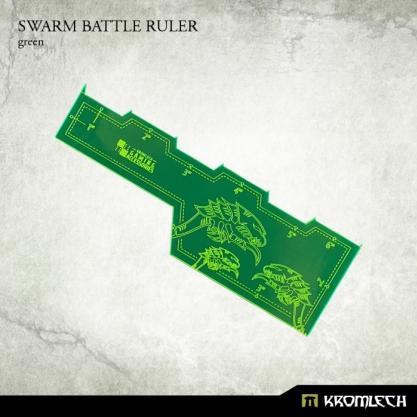 Kromlech Accessories: Swarm Battle Ruler [green] (1)