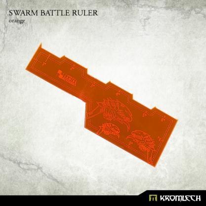 Kromlech Accessories: Swarm Battle Ruler [orange] (1)