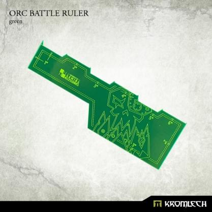 Kromlech Accessories: Orc Battle Ruler [green] (1)