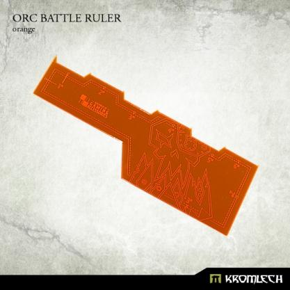 Kromlech Accessories: Orc Battle Ruler [orange] (1)