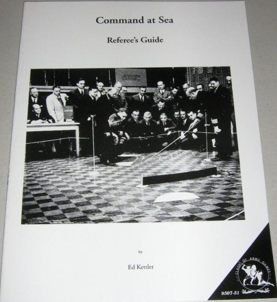 Referee's Guide to Comand at Sea