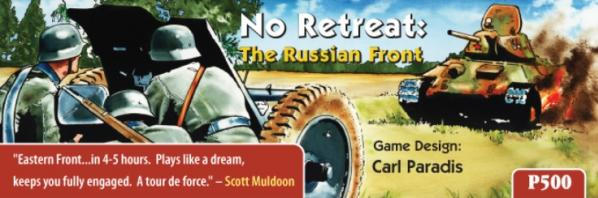 GMT Games: No Retreat The Russian Front Deluxe Edition (2nd printing)