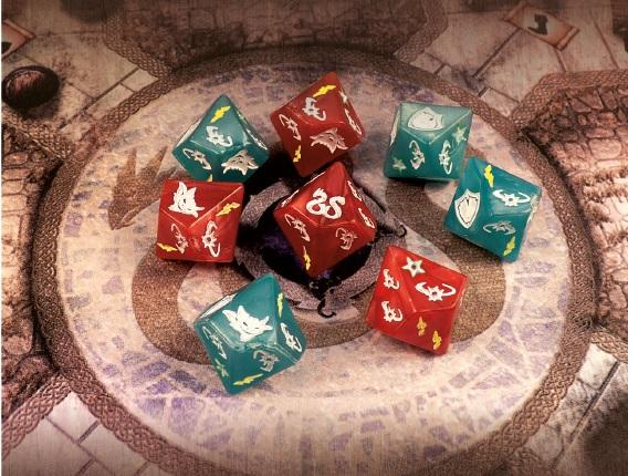 Sword & Sorcery: Custom Dice Pack (Reprint)