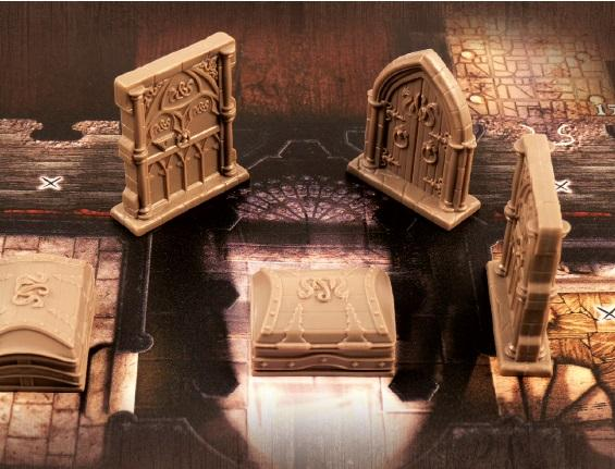 Sword & Sorcery: Doors and Chests Pack (Reprint)