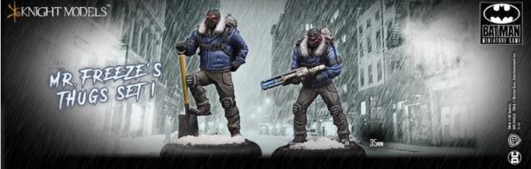 Batman Miniature Game: Mr Freeze Thug Set 1