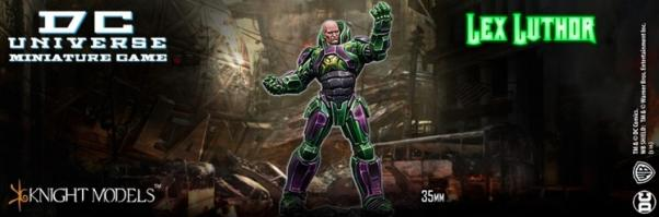 Knight Models DC Universe: Lex Luthor Warsuit