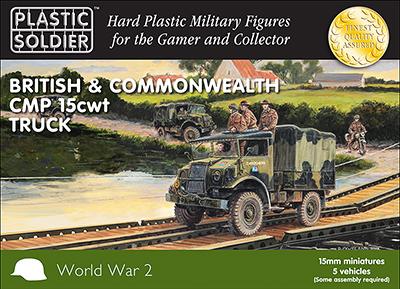 15mm WWII: (British) CMP 15 CWT Trucks