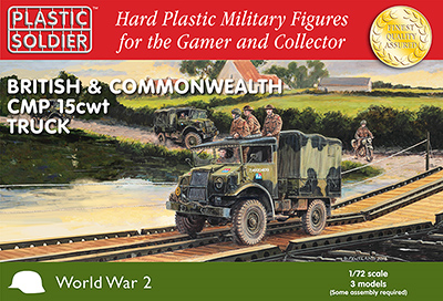 20mm WWII: (British) CMP 15 CWT Trucks