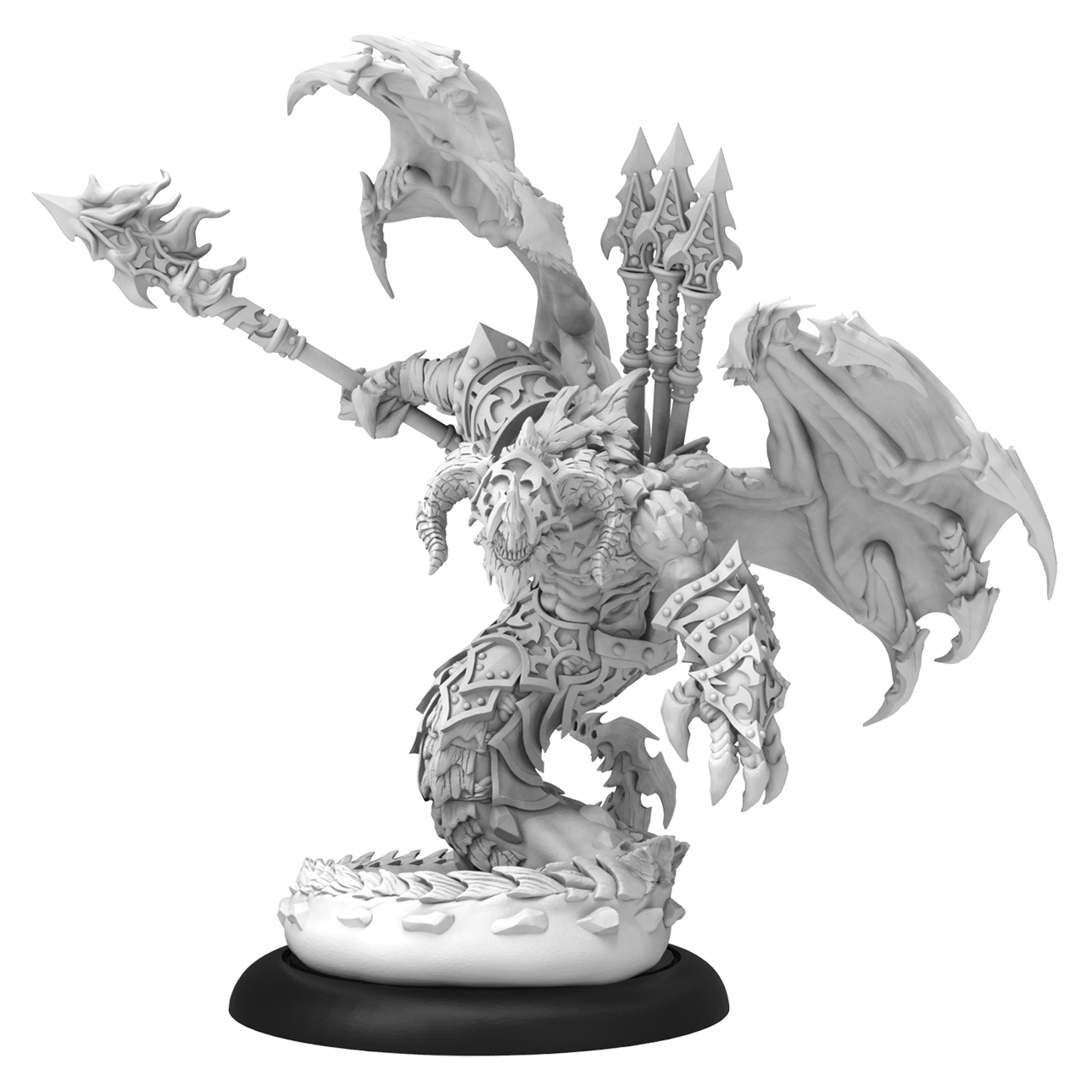 Hordes: (Legion Of Everblight) Azrael - Legion Heavy Nephilim Character Warbeast (Metal/Resin)