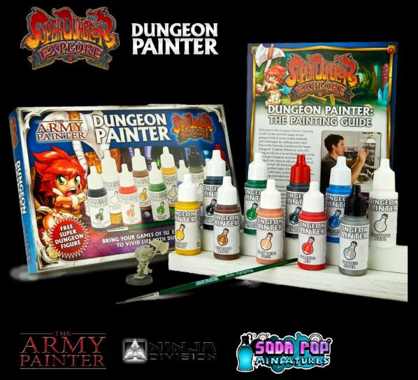 Warpaints: (Super Dungeon Explore) Dungeon Painter Set